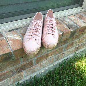 Keds PINK platform shoes